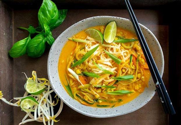 Pasta-curry