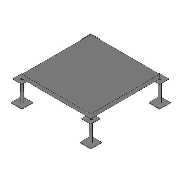 Piso Elevado HPL - PVC