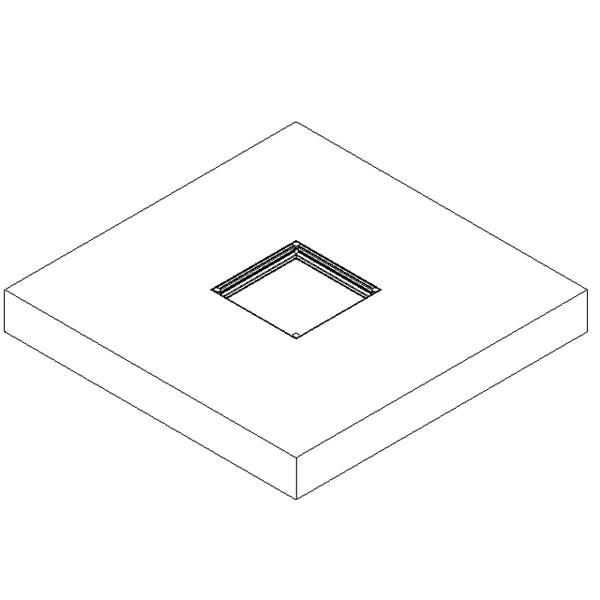Tapa de cámara estanca de doble sello