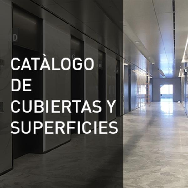 CATALOGO DE CUBIERTAS Y SUPERFICIES