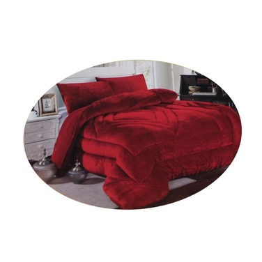 Cobertor Sherpa Chiporro Plumon Liso 1 Plaza