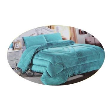 Cobertor Sherpa Chiporro Plumon Liso 2 Plazas
