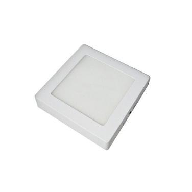 Foco LED Cuadrado Sobrepuesto 6W