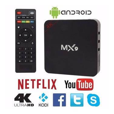 Tv Box Mx9 4k Android 7.1 app Kodi