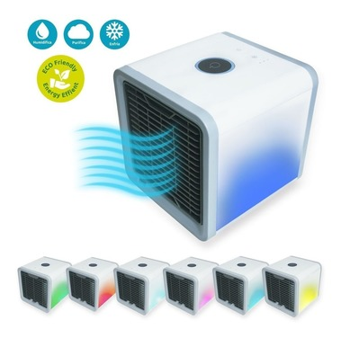 Enfriador Mini Aire Acondicionado Portátil Led
