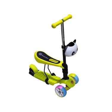 Multi Scooter Triple Niños C/cesta Panda