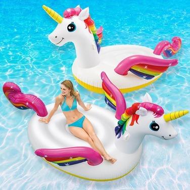Unicornio Flotador Mega Original Intex Modelo 2019