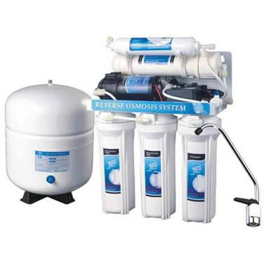 Sistema Purificación Agua Osmosis Inversa + Bomba