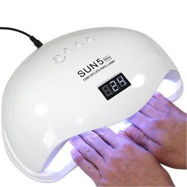 Lampara Led Uv 72w Star5 Esmalte Permanente Secado Uñas