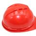 Casco Trabajo Rojo Emergencia Protección