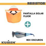 PACK PANTALLA  SOLAR + LENTES REX