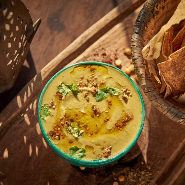 Hummus de lentejas