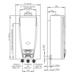 Calefon Tiro Natural Apto Apoyo Solar 316KPCN - 16 Litros - Gas Natural - Dt_316KPCN.png