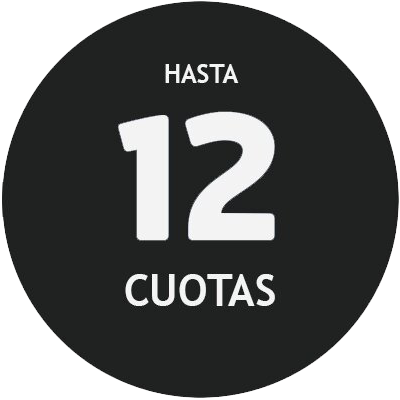 HASTA 12 CUOTAS SIN INTERÉS