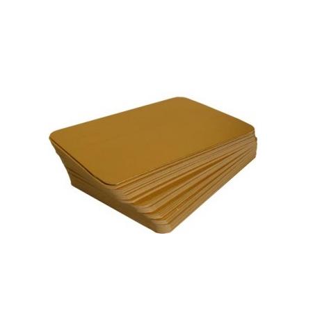 Bandejas Aluminizadas (Cartón Oro)