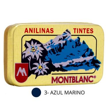 Anilina   Mont Blanc 3 Azul Marino.