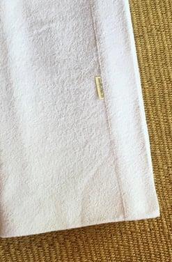 Sábanas anti-transpirante de toalla 100% algodón 1 y 1 1/2 Plaza