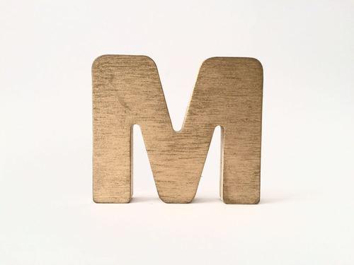 Letras Deco Doradas 10 cm