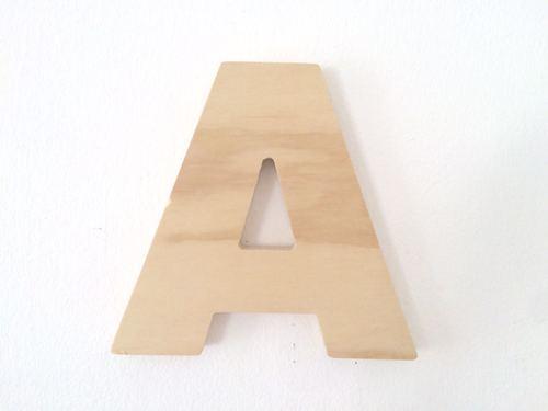 Letras Deco Natural 20 cm