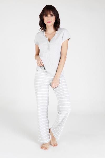 Pijama Rayas GR L