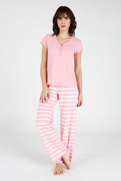 Pijama Rayas CR L