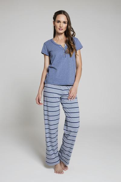 Pijama Rayas MC AZ
