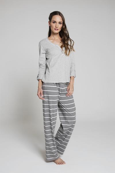 Pijama Rayas ML GR