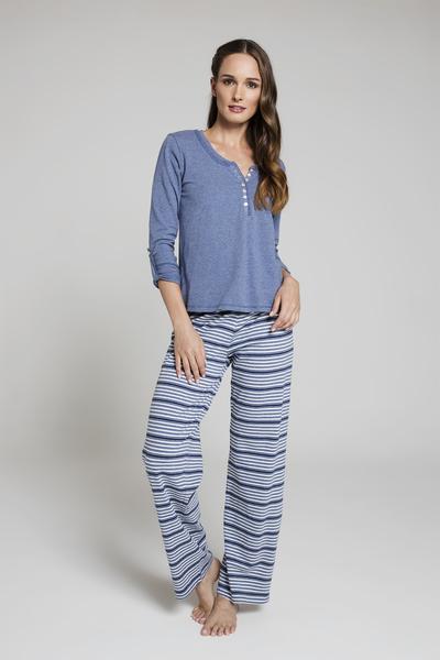 Pijama Rayas ML AZ