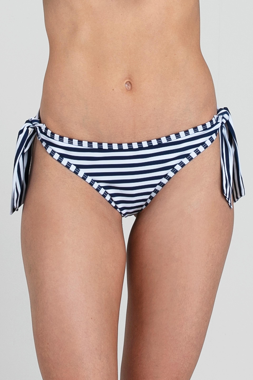 Bikini Amarras Azul Listado