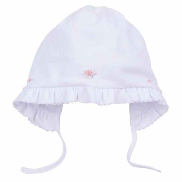 Gorro capota niña bordado a mano Lucky Baby - The Mama Store 3cc9694d3f4