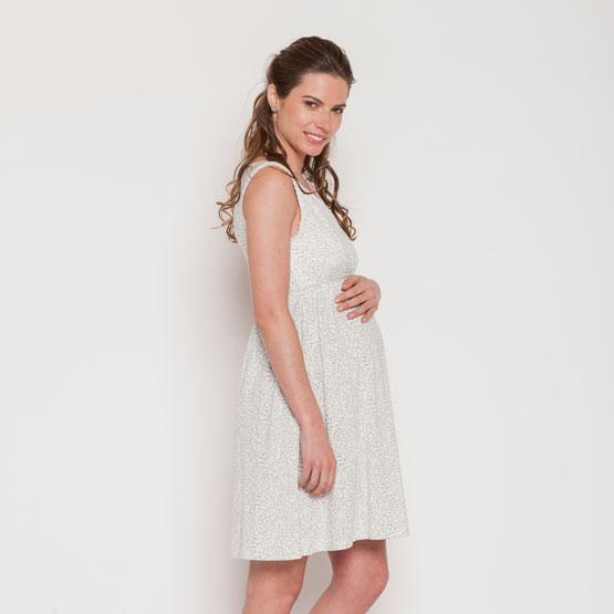 gran inventario mejor autentico venta caliente en línea Camisa Dormir Maternal Peto Bordes Encajes (Ramitas Gris) Nala ...