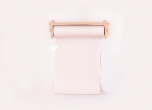Porta papel muro