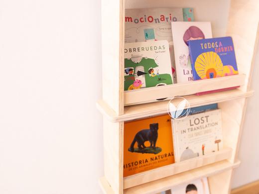 Librero de muro Leo 40 cm