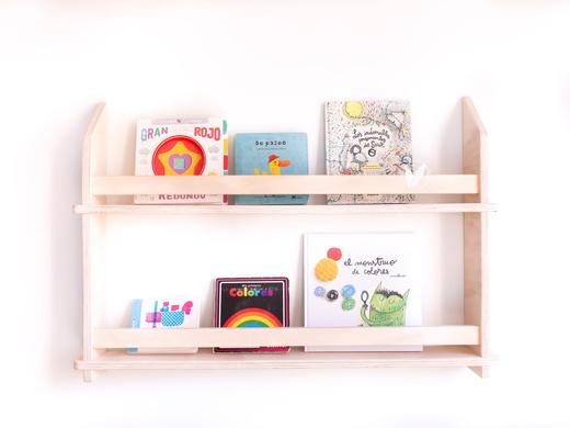 Librero de muro Mini Leo 80 cm
