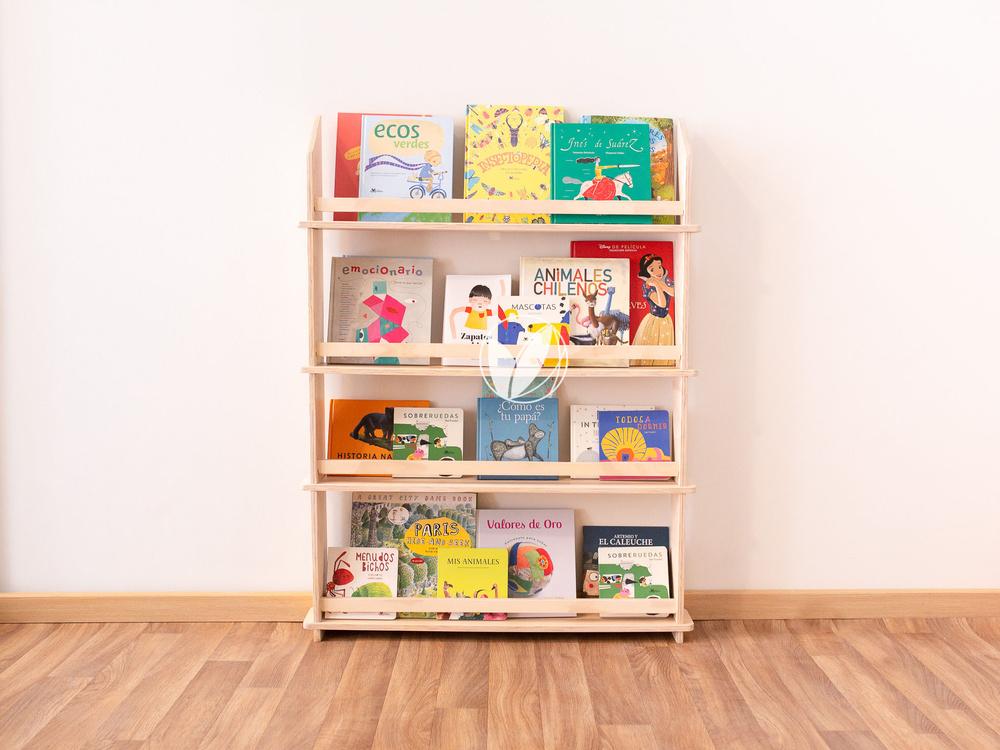 Librero de muro Leo 80 cm