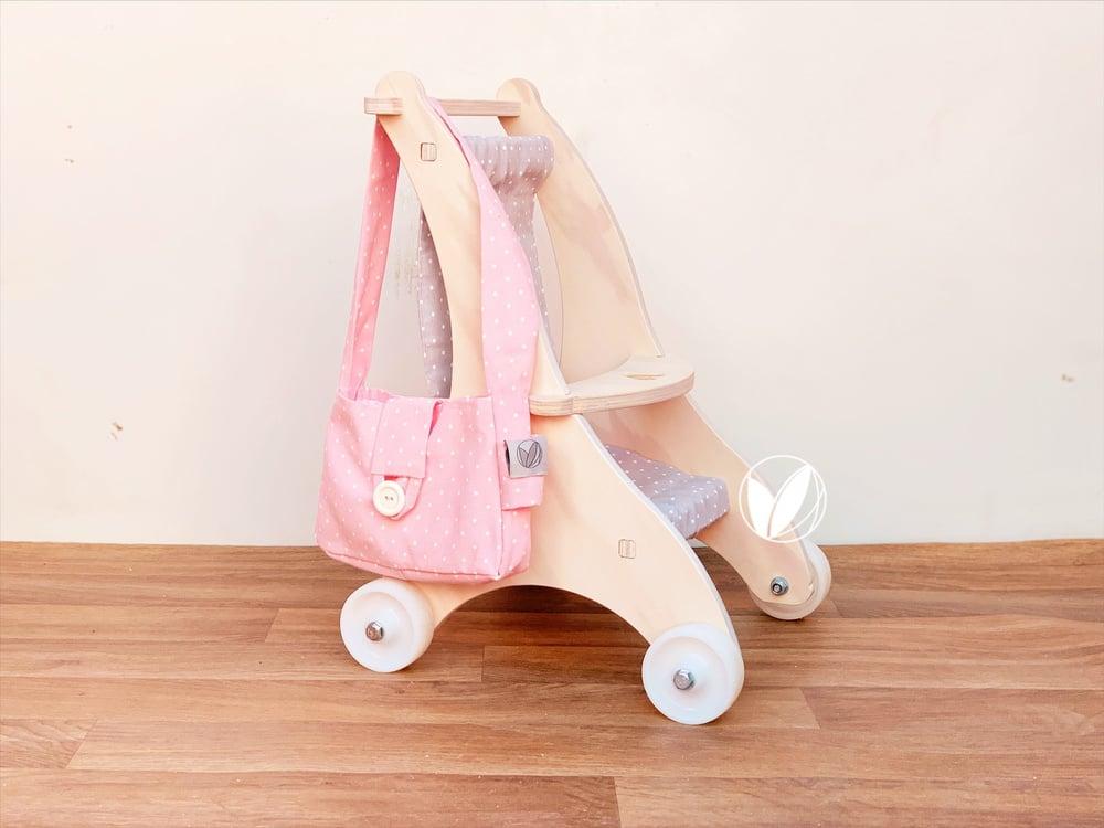 Pack coche + bolso pañalero