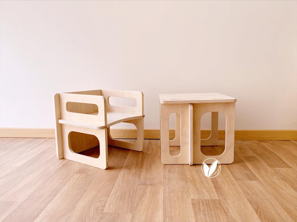 Pack 2 Cubos Montessori