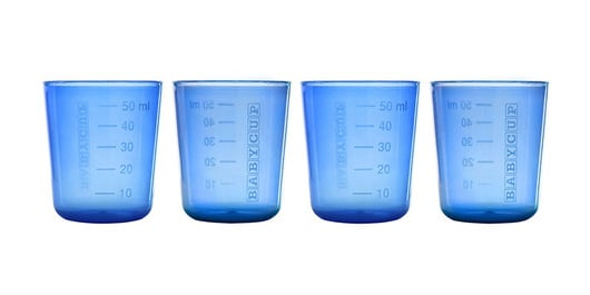 BABYCUP Set 4 vasitos