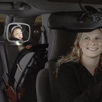 Espejo de Seguridad para Bebé con Luz LED - (Diono)