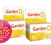 Garden D (Vitamina D) x 60 Comprimidos