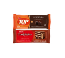 Pack Harald Cobertura Chocolate Semi Amargo - Leche