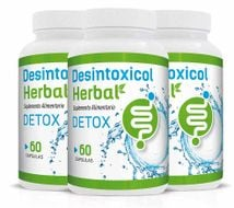 DESINTOXICOL HERBAL pack por 3 frascos