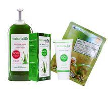 Shampoo Control Caida + Gel Hidratante + Mascarilla de regalo