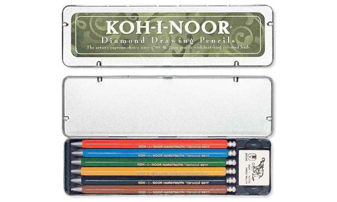 Set  portaminas de colores Koh-i-noor  - Set Kohinoor 1.jpg