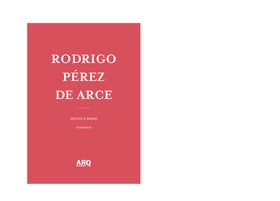 Rodrigo Pérez de Arce | Hecho a Mano