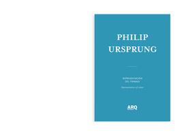 Philip Ursprung    Representación del Trabajo