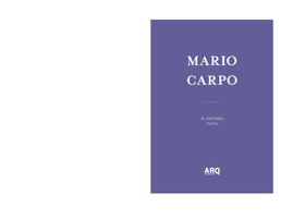 Mario Carpo | El Ascenso