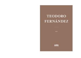 Teodoro Fernández | Desaparecer detrás del resultado