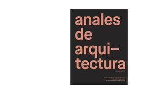 Anales de Arquitectura 2019-2020