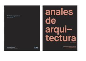 Pack: Anales de Arquitectura 2017-2018 / 2019-2020